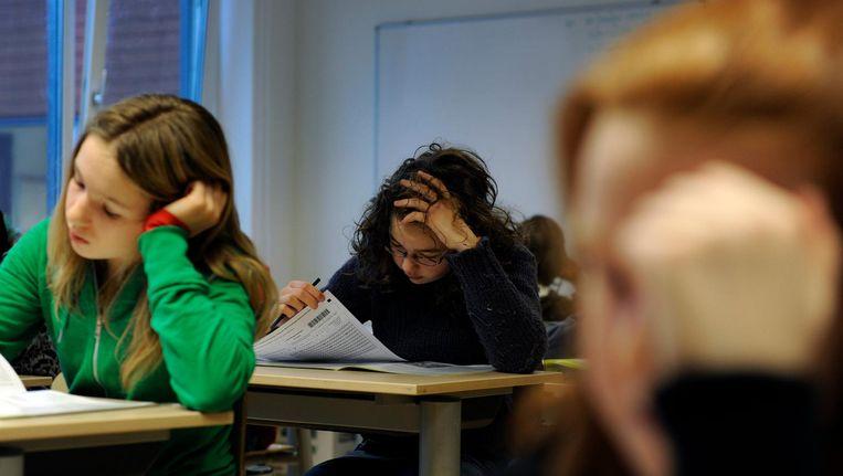 Ruim 85 procent van de 7638 achtstegroepers is op de school van hun eerste keuze terecht gekomen. Beeld anp