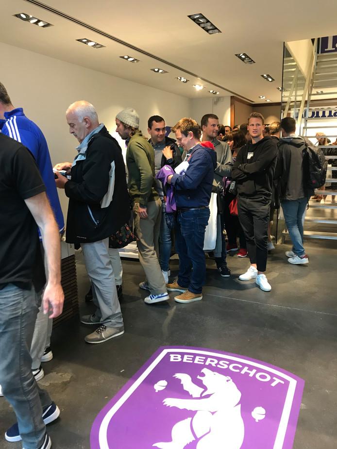 Beerschot pop-up store