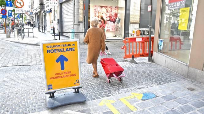 Looplijnen, shoppingbuddy's en telsysteem: shoppen in Roeselare ziet er straks zo uit
