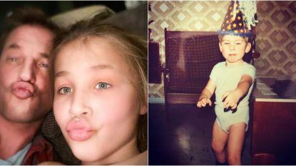 SHOWBITS. Schattige duckfaces en welke BV deelde deze foto uit z'n kindertijd?