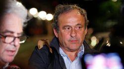 """Michel Platini opnieuw vrij na verhoor: """"Veel lawaai voor niets"""""""