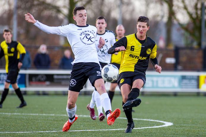 Groesbeekse Boys eerder dit seizoen tegen SCE.