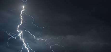Noodweer trekt over Amersfoort