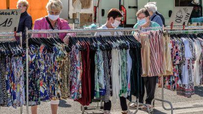Eerste wekelijkse markt in Harelbeke na coronastop