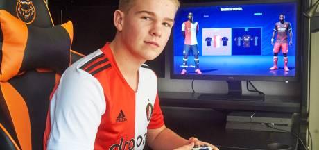 Droom komt uit voor Udense Jens: naar Feyenoord (als esporter)