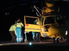 Helikopter verhuist patiënt omdat brug is afgesloten