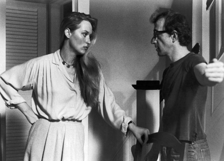 Woody Allen en Meryl Streep in de film Manhattan (1979).  Beeld Imageselect