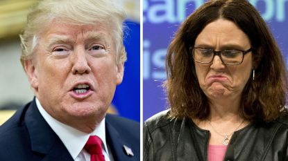 """EU bereidt handelsoorlog  met VS voor: """"Duizenden banen in Europa bedreigd"""""""
