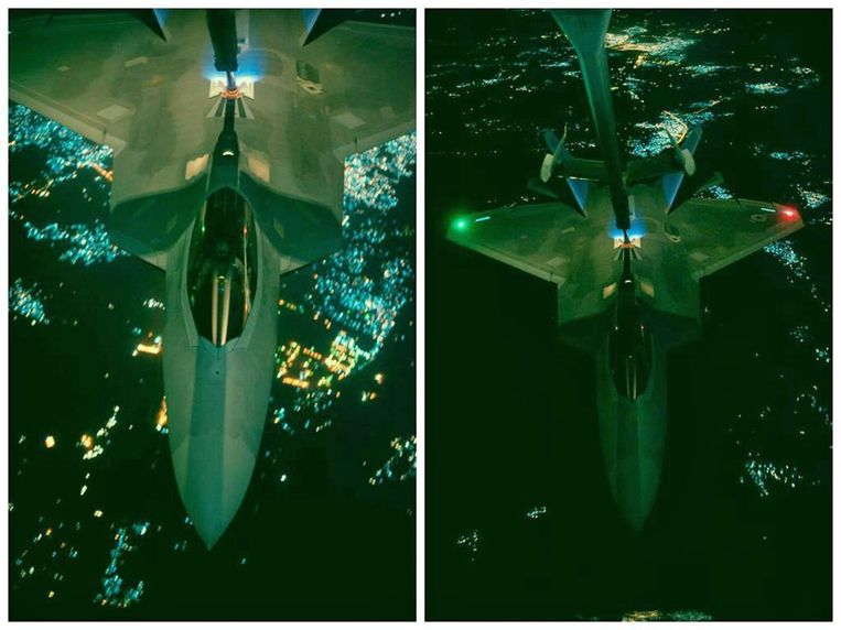 Een F-22 Raptor.