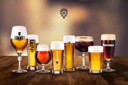 Verschillende bieren van het Bavaria-concern