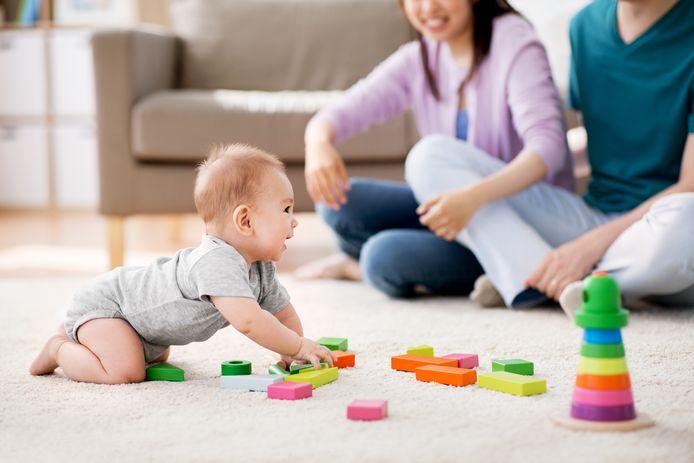 Foto ter illustratie: Werkende vaders in Finland krijgen straks evenveel verlofdagen als moeders.