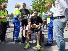 Wereldprimeur Enschede Marathon: rennen met 'pruik' vol elektroden
