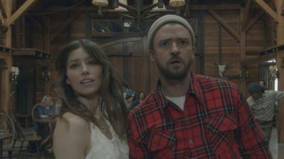 Jessica Biel danst met echtgenoot Justin Timberlake in zijn nieuwe video