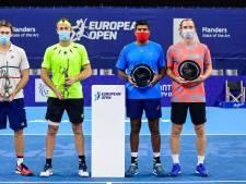 Middelkoop verliest dubbelfinale in Antwerpen