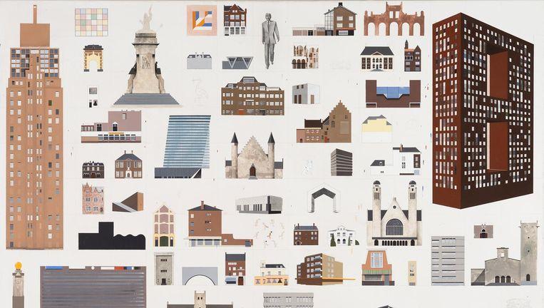 Verfwinkel Den Haag : Miniatuursteden met een klodder verf eroverheen de volkskrant
