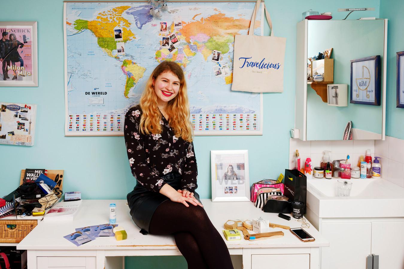 Mila Duterloo (18)  is haar eigen bedrijf gestart.