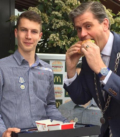 Stan (17) maakt de lekkerste Big Mac van Nederland