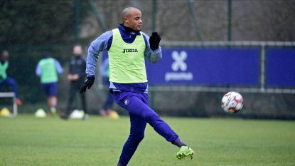 Daar is Vincent Kompany weer: kapitein van Anderlecht traint opnieuw mee