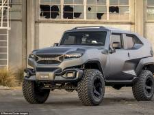 Deze tank-SUV heeft rookgordijn, gasmaskers en booby traps