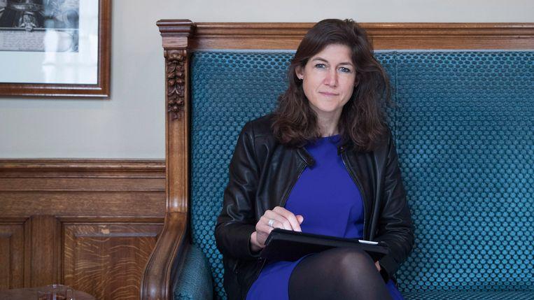Prof. dr. Annelien Bredenoord, hoogleraar Ethiek en Biomedische Innovaties. Tevens Eerste Kamer-lid Eerste Kamer voor D66.  Beeld Werry Crone