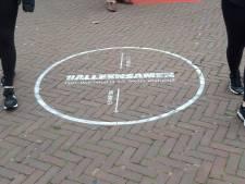 Coronacirkels in Rijssen en Holten: Houd anderhalve meter afstand!