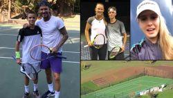 David en vooral Victoria Beckham hebben grootse plannen met tennissende zoon Romeo