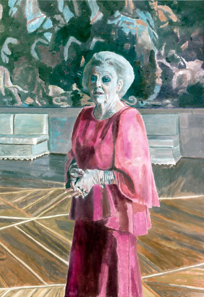 Luc Tuymans' schilderij van Beatrix is geleend van het Stedelijk Museum Amsterdam.