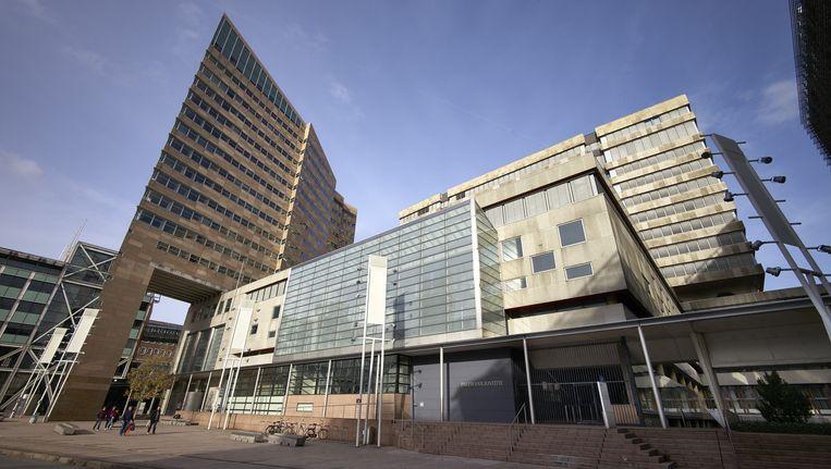 Exterieur van het paleis van justitie in Den Haag Beeld anp