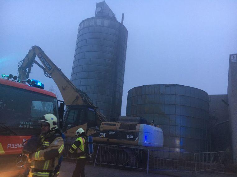 Vrijdagochtend rond 6u brak opnieuw brand uit bij Pouleyn.