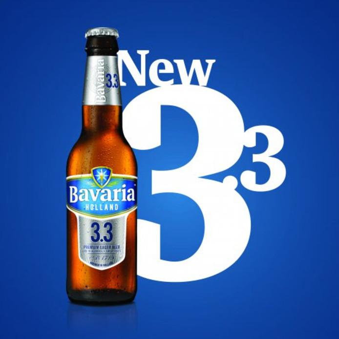 Het nieuwe biertje van Bavaria: Bavaria3.3