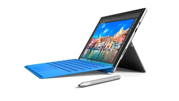 De Microsoft Surface Pro 4 Windows-tablet. Beeld Windows