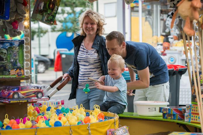 De kermis in Elburg was dit jaar van 26 juli tot en met 2 augustus. Foto Van de Biezen