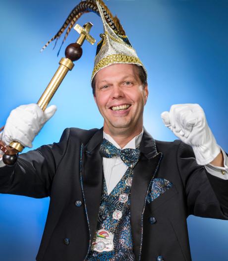 Moergestelnaar Rob Beerens gaat er als prins van het Pierewaaiersrijk 'aon staon'