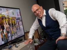 Gert Jakobs is ook in september helemaal in de ban van de Tour de France