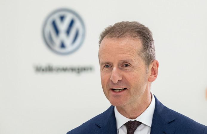 CEO Herbert Diess van de Volkswagen Groep
