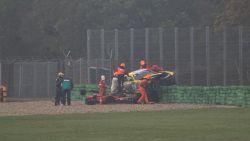 """Tom Boonen ontsnapt aan erger in Belcar kampioenschap: """"Wat ik deed na crash? Weer in de auto kruipen, natuurlijk"""""""