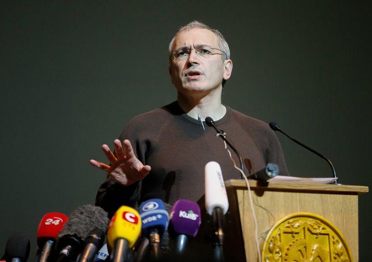 Michail Chodorkovski Beeld epa