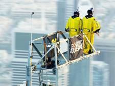 Record du monde de base jump depuis le sommet de Burj Khalifa