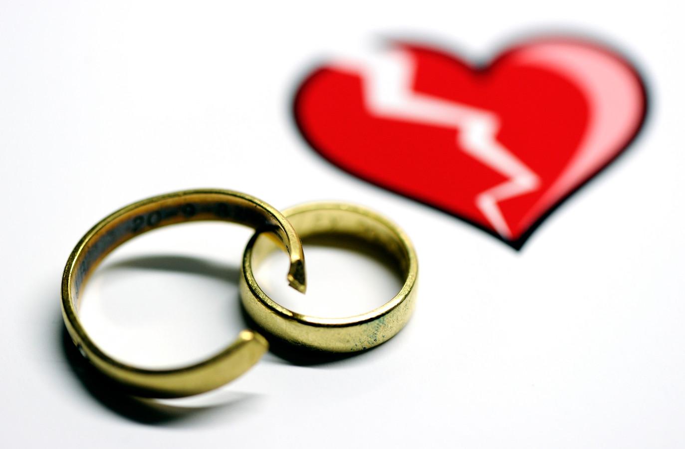In ruim 8 procent van de gevallen kan de trouwring worden omgesmolten.