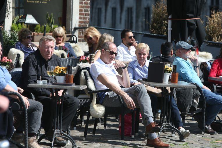 Stralende zon in Gent