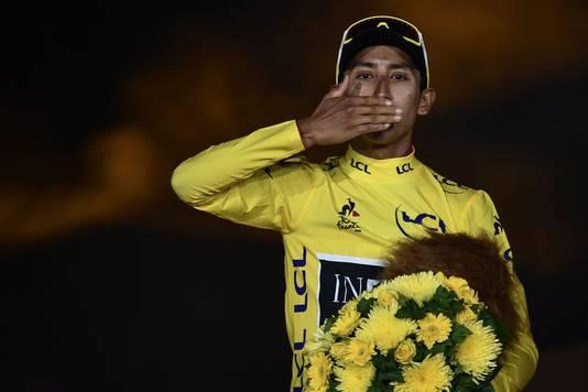 Egan Bernal, de Tour-winnaar van 2019.
