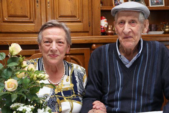 Aloysius Verboven en Anna Briers zijn 60 jaar getrouwd.