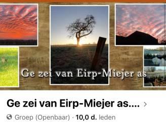 Met 10.000 fans is 1 inwoner op 2 lid van Facebookgroep Ge zei van Eirp-Miejer as....