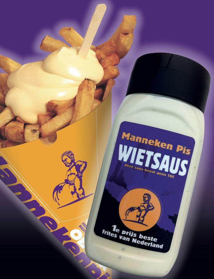 De saus bestaat uit een mix van mayonaise en henneparoma