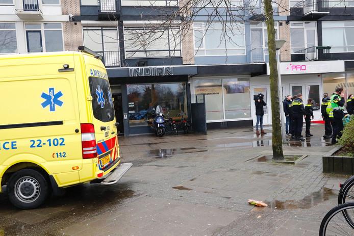 Twee mensen zijn gewond geraakt bij een steekpartij in Eindhoven.