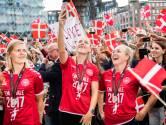 Ook Deense vrouwen krijgen heldenontvangst na tweede plaats