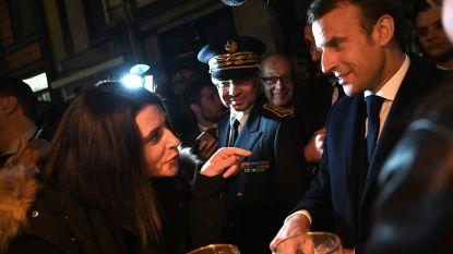 """Macron in Rouen, één maand na grote fabrieksbrand die veel paniek heeft veroorzaakt: """"Geen tekortkomingen"""""""