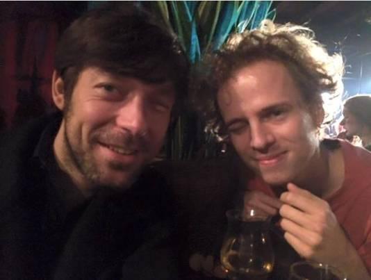 Charlatan-zaakvoerder Gerald Claes en hoofdrolspeler Stef Aerts.