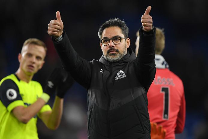 David Wagner bedankt de fans van Huddersfield Town.