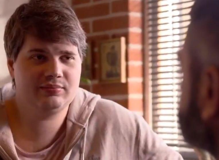 Danny Nelson lors d'une des interviews